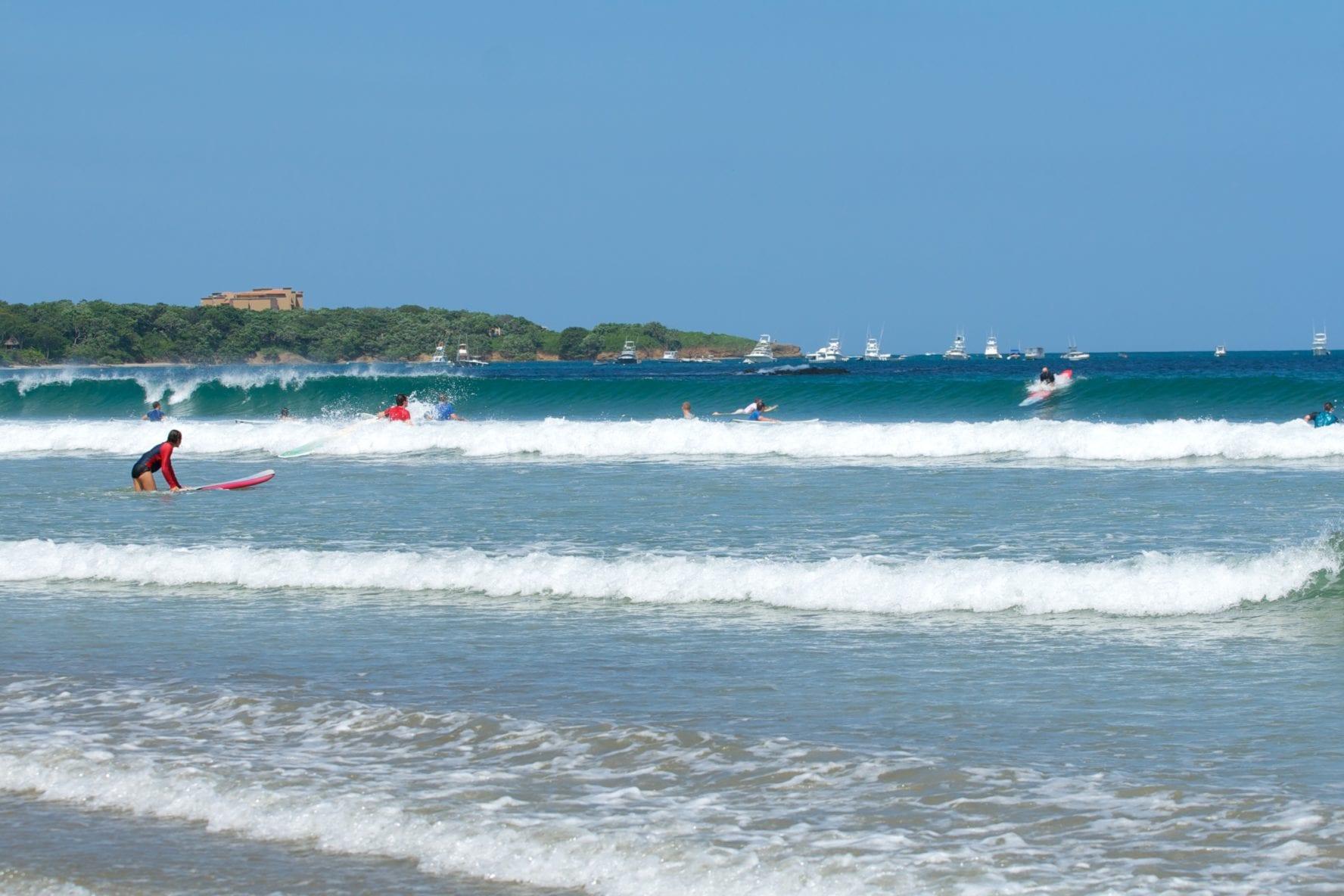 Tamarindo surfers