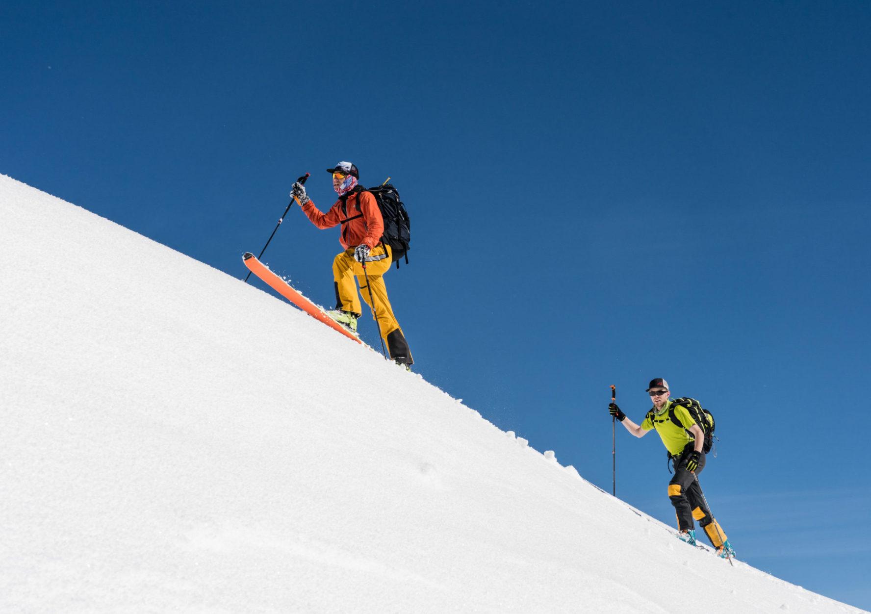 skiing at ymir