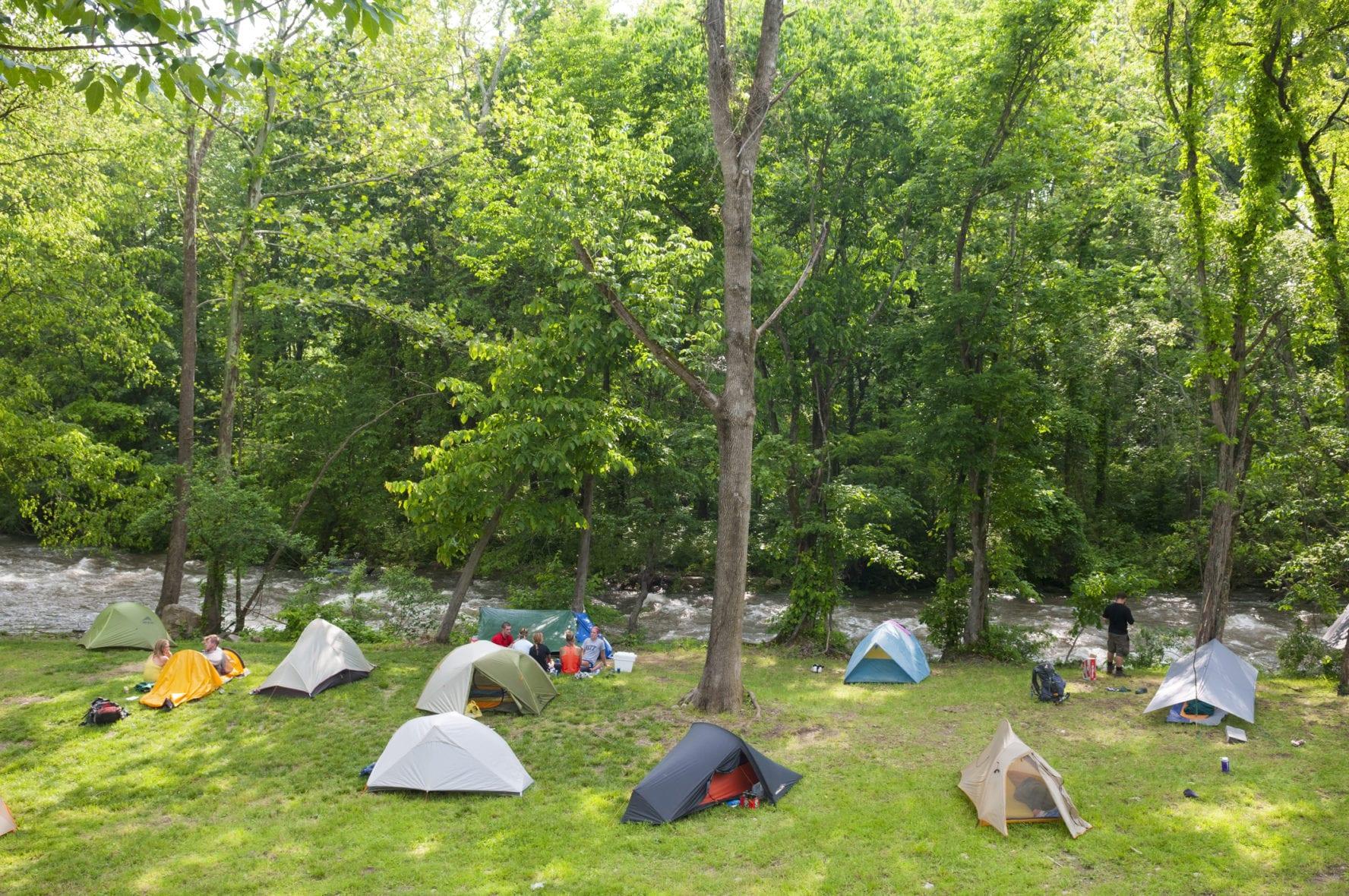Appalachian Trail camping