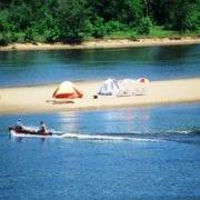 Camping at Wisconsin River