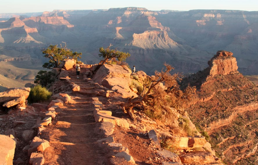 South Kaibab Trail and O'Neill Butte