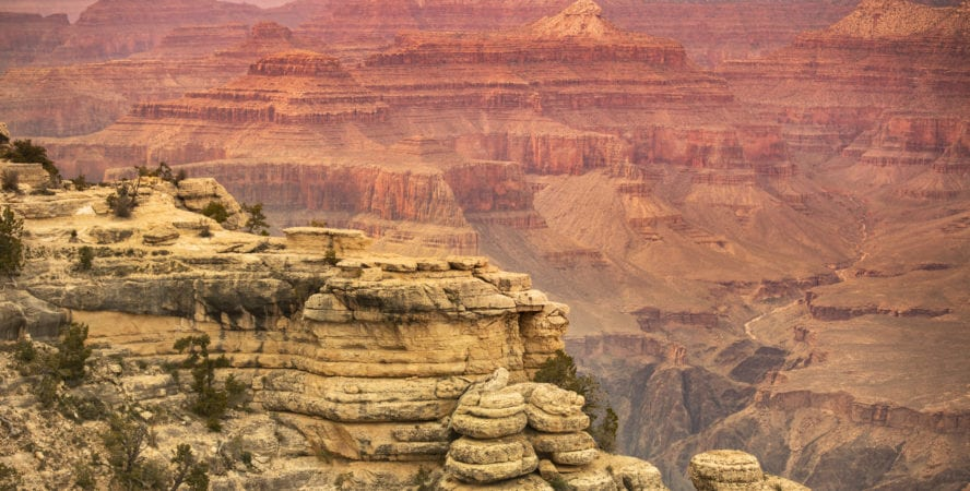 Mather point, Rim trail
