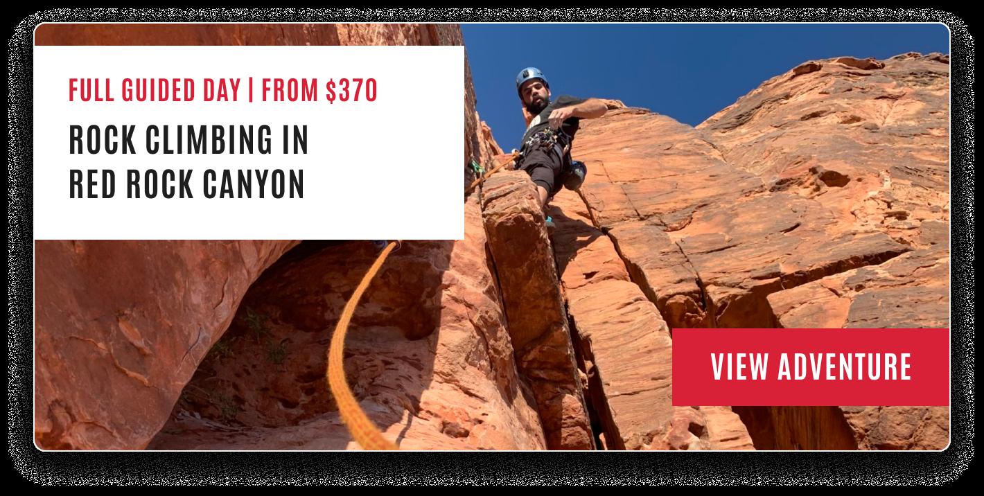 Red Rock Canyon rock climbing