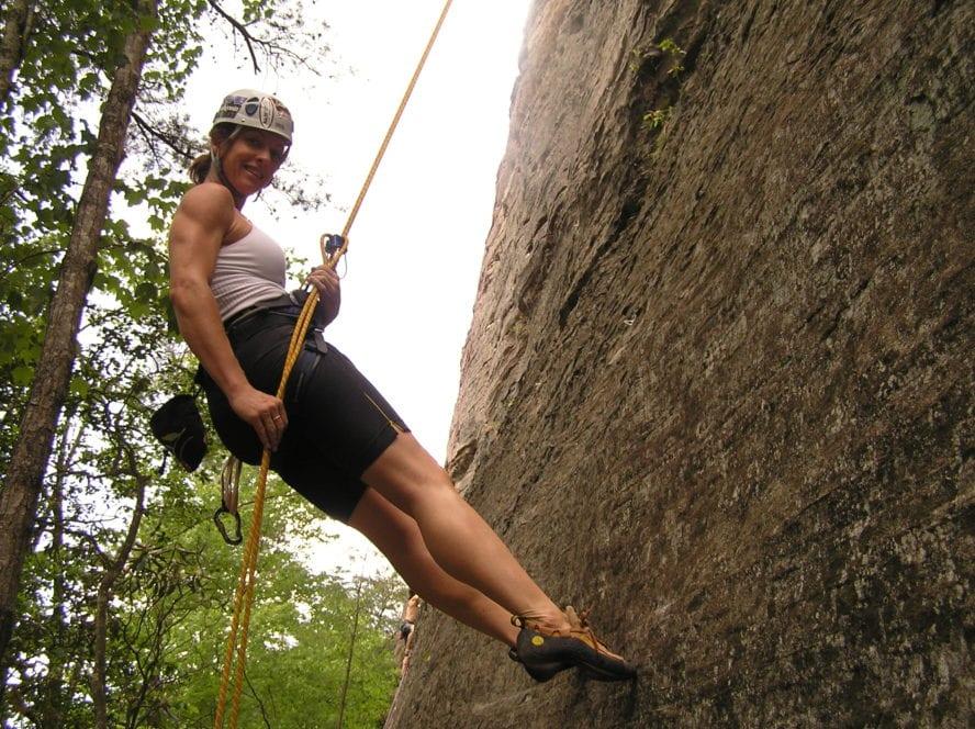 RRG rock climbing