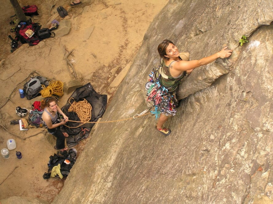 rock climbing red river gorge