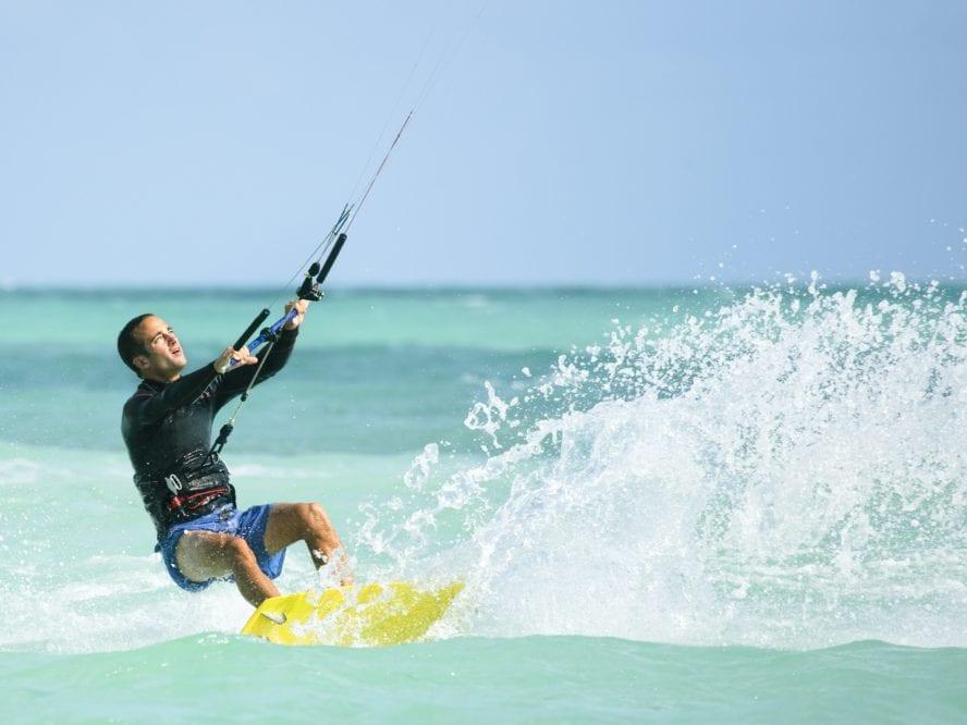 Miami kiteboarding