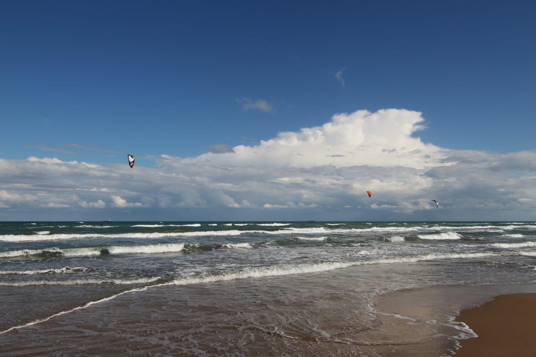 South Padre Island kiteboarding