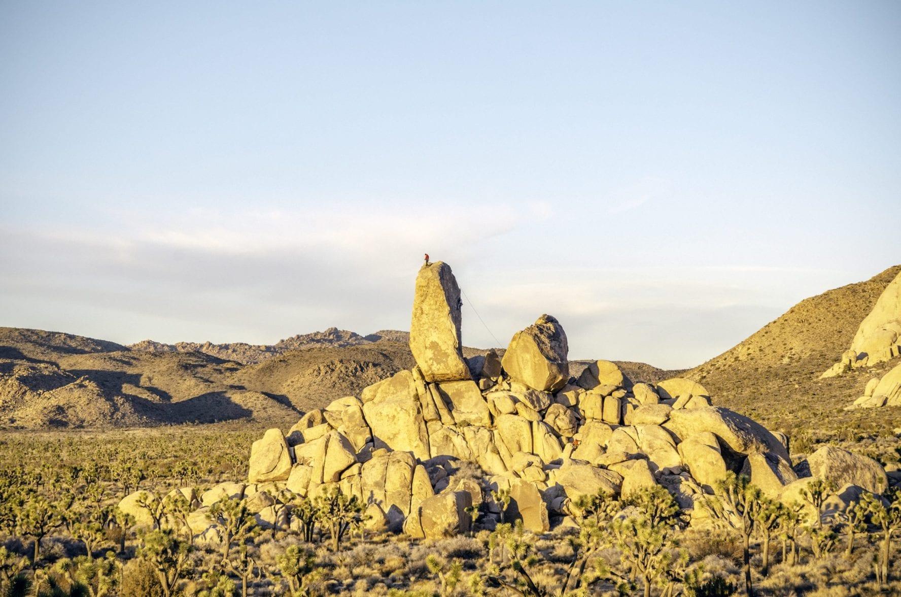 Headstone Rock in Joshua Tree