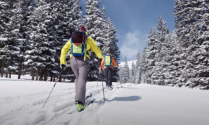 Rocky Mountain national park backcountry skiing video