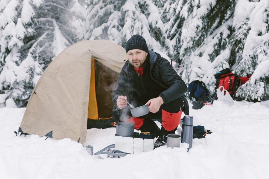 winter camp food