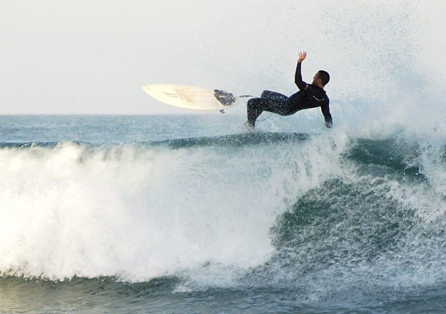 Jeffreys Bay surfing