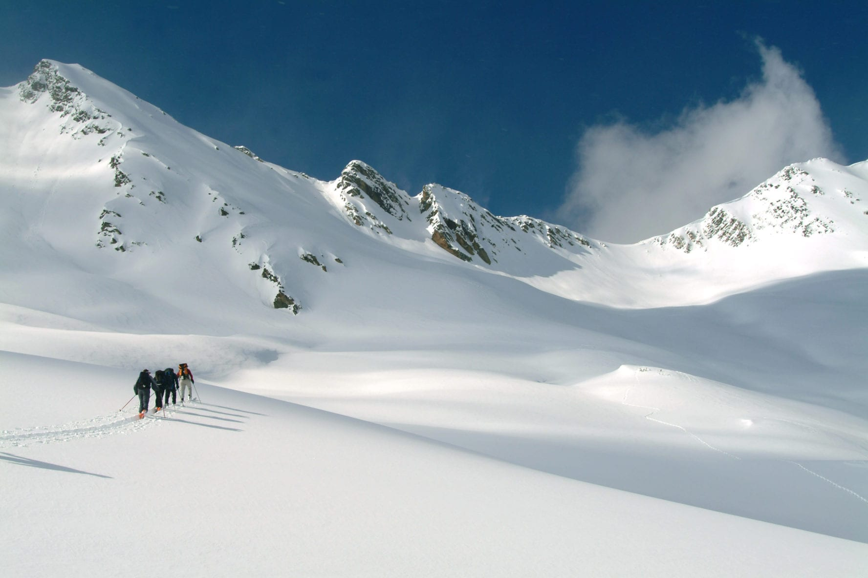 Ski Touring in Canadian Rockies