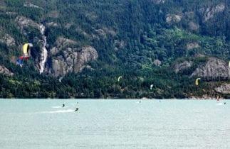 Squamish kiteboarding