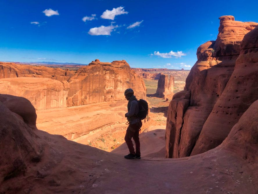 Arches National Park Rock Climbing