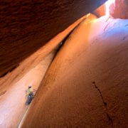 Cave Route Rock Climbing