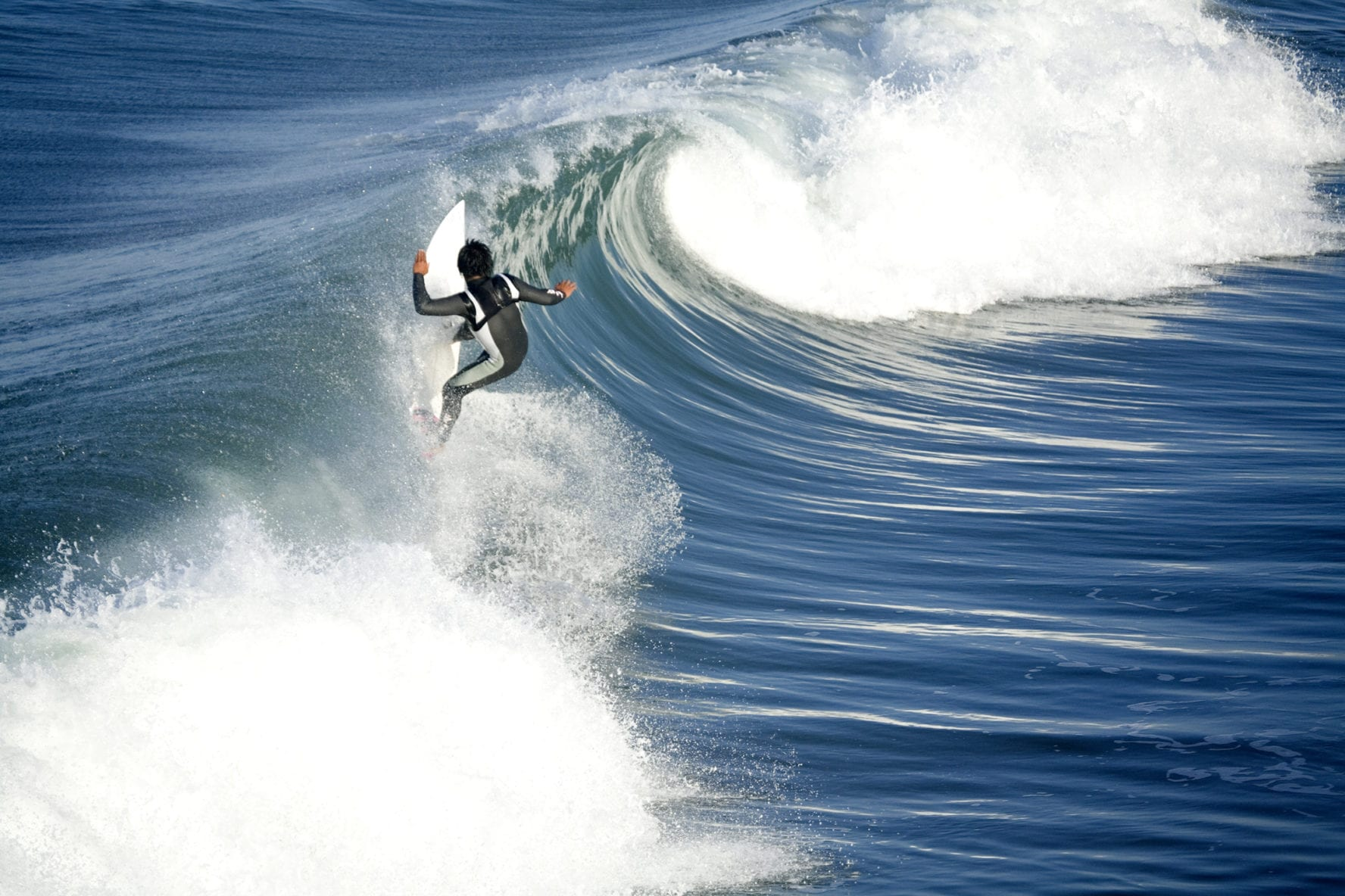 San Clemente surfing