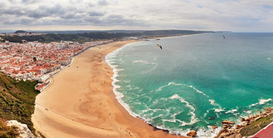 Nazare Beach, Portugal