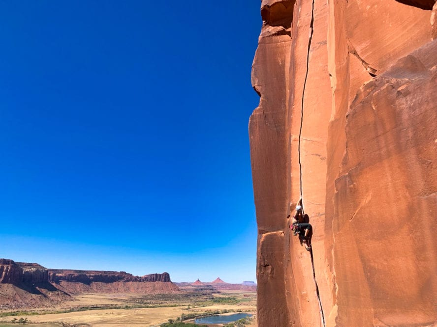 Scarface rock climbing