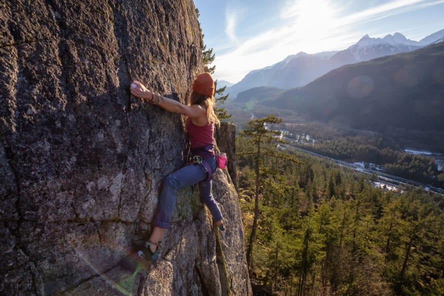 Rock Climbing in Squamish