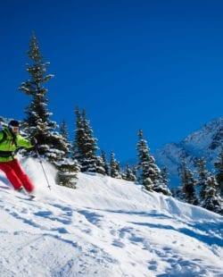 Blackcomb backcountry skiing