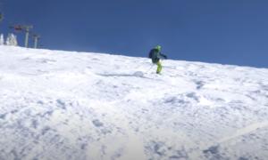 Grand Targhee backcountry skiing video
