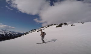 Whistler backcountry skiing video