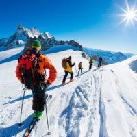 Chamonix ski touring