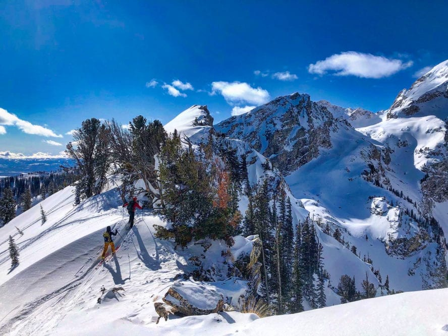 Jackson Hole backcountry ski