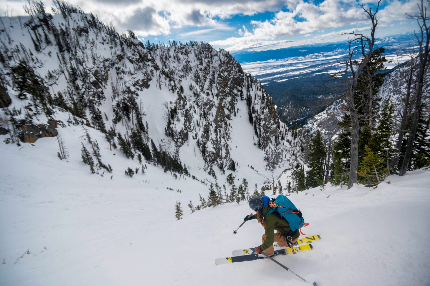 Jackson Hole backcountry skiing
