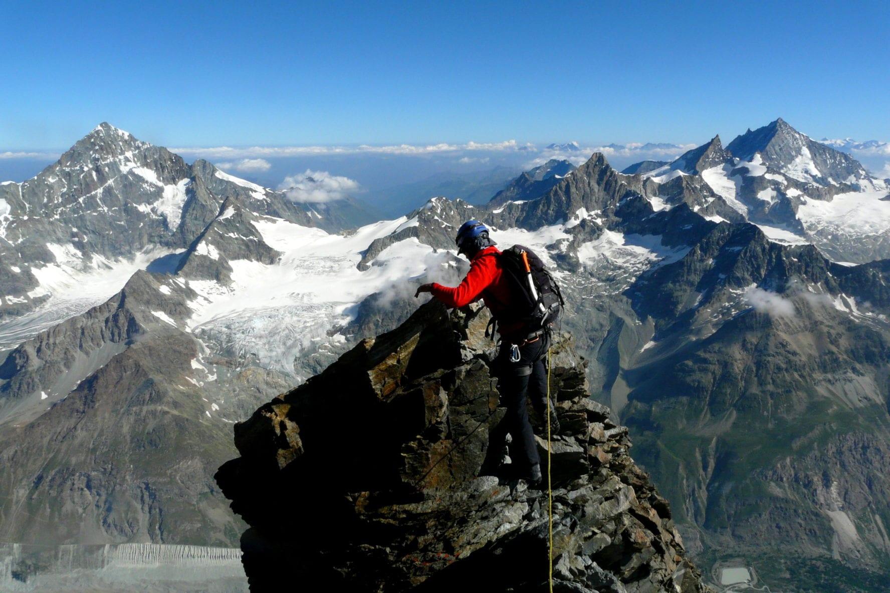 Climbing Matterhorn, Zermatt