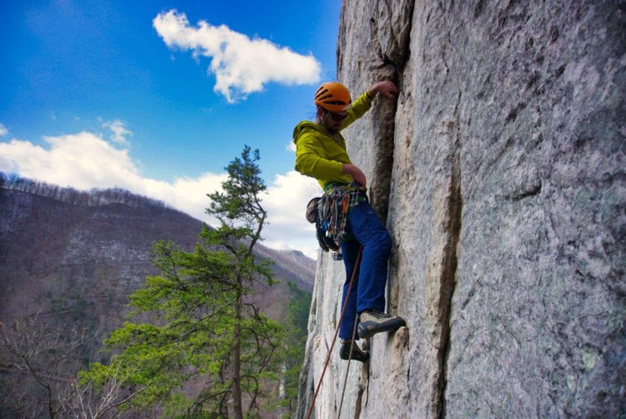 Seneca Rocks Climbing