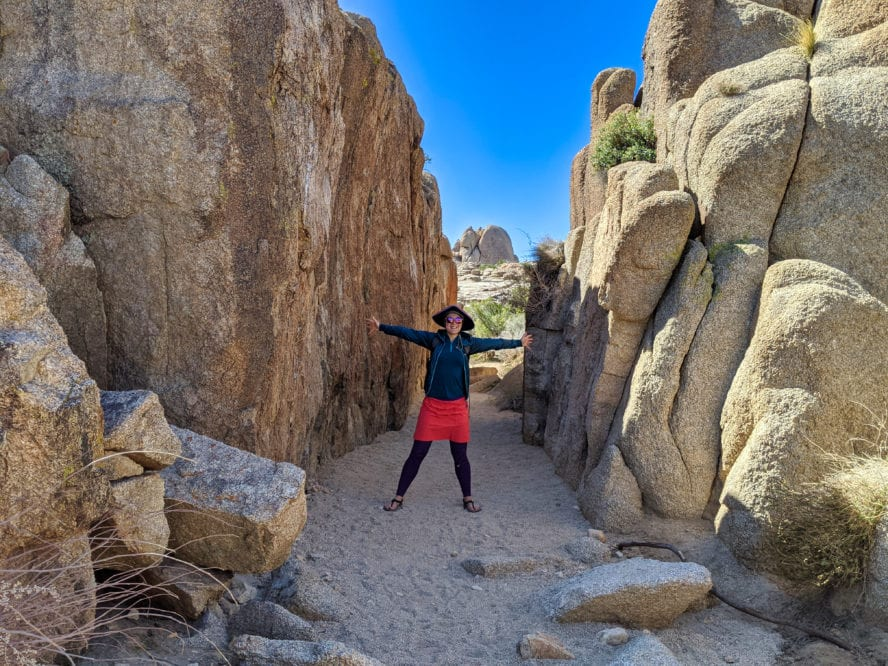 hiking Joshua tree - Discovery trail