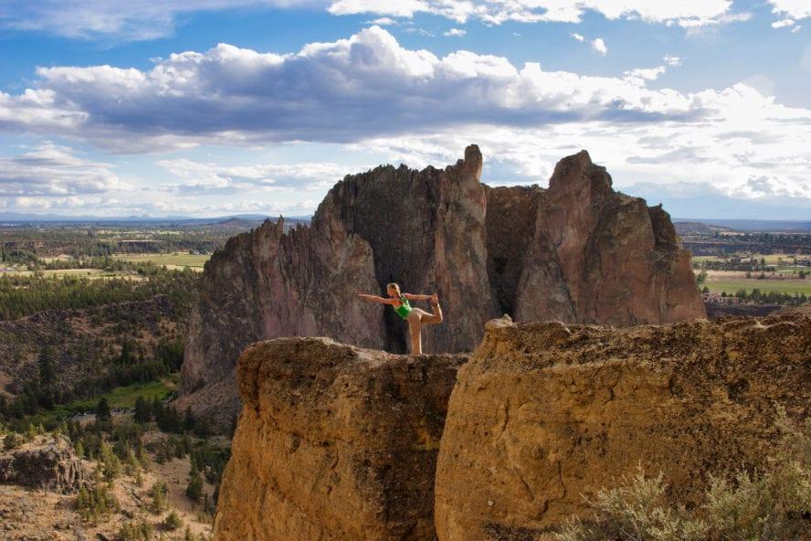 Smith Rock Climbing