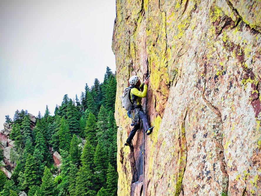 Eldorado rock climbing