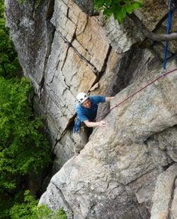 The Gunks + Rock Climbing