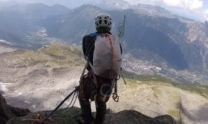 chamonix alpine climbing video