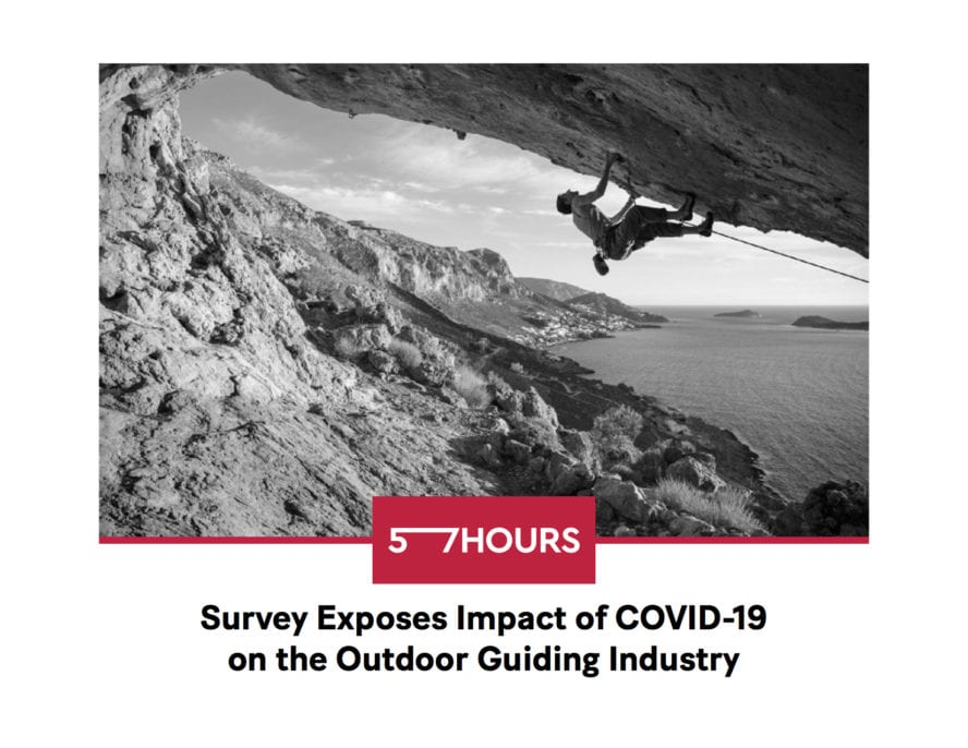 57hours Survey Impact of COVID-19 on Outdoor Industry