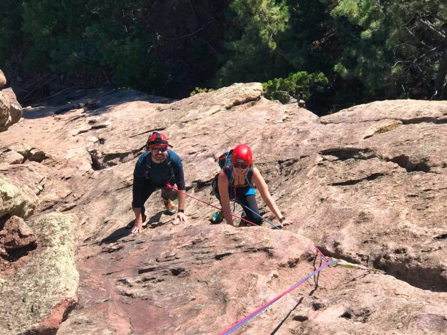 Flatirons Climbing