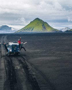 Uncharted trail Iceland