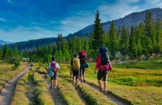 hiking John Muir Trail