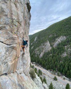 Boulder Canyon climbing