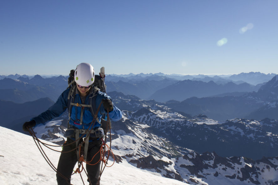 Washington climbing