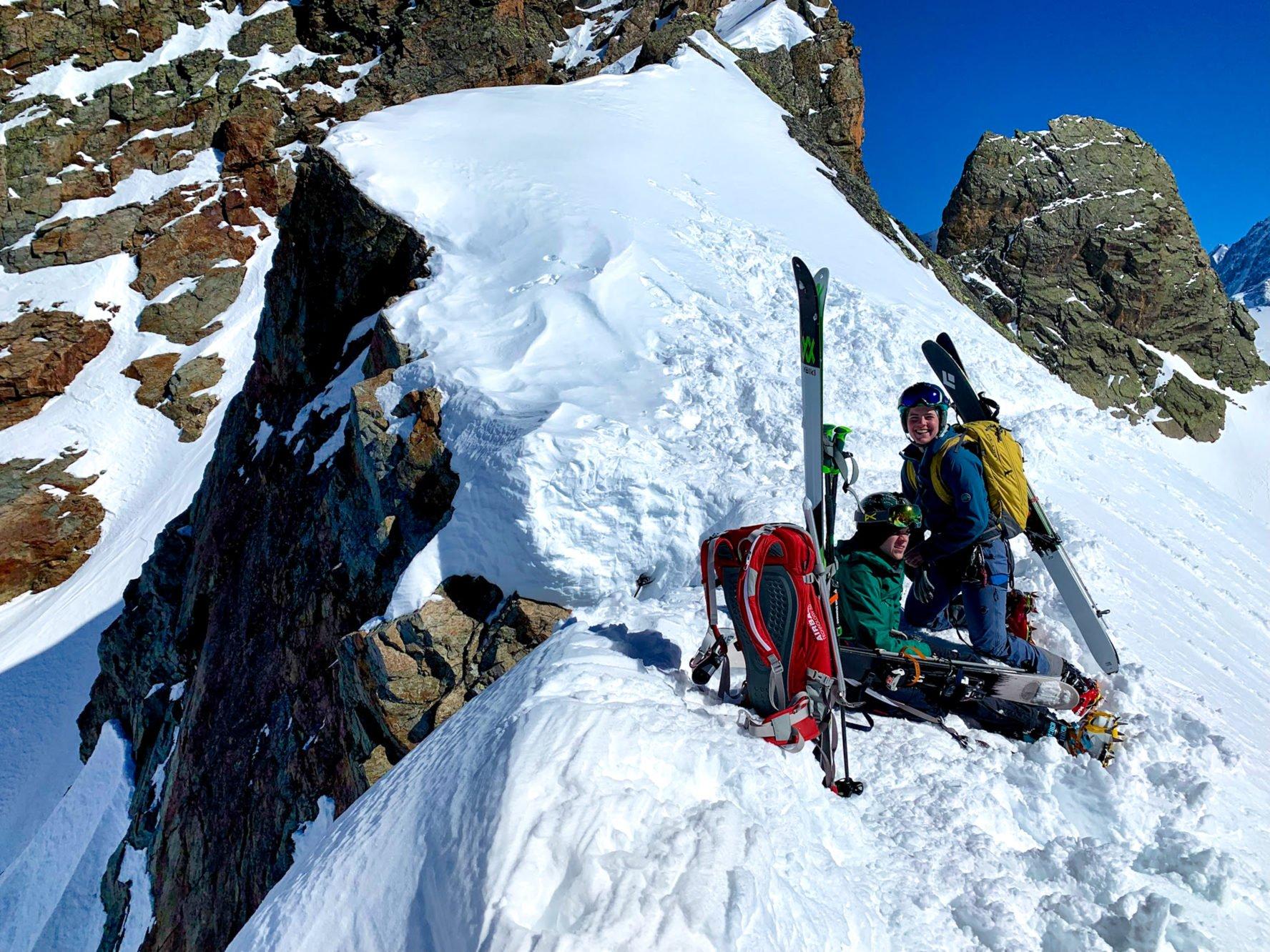 backcountry skiing Chamonix