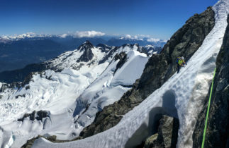 Mount Tantalus rock climbing