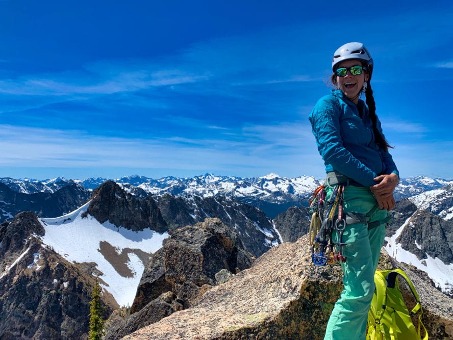 Climbing Washington