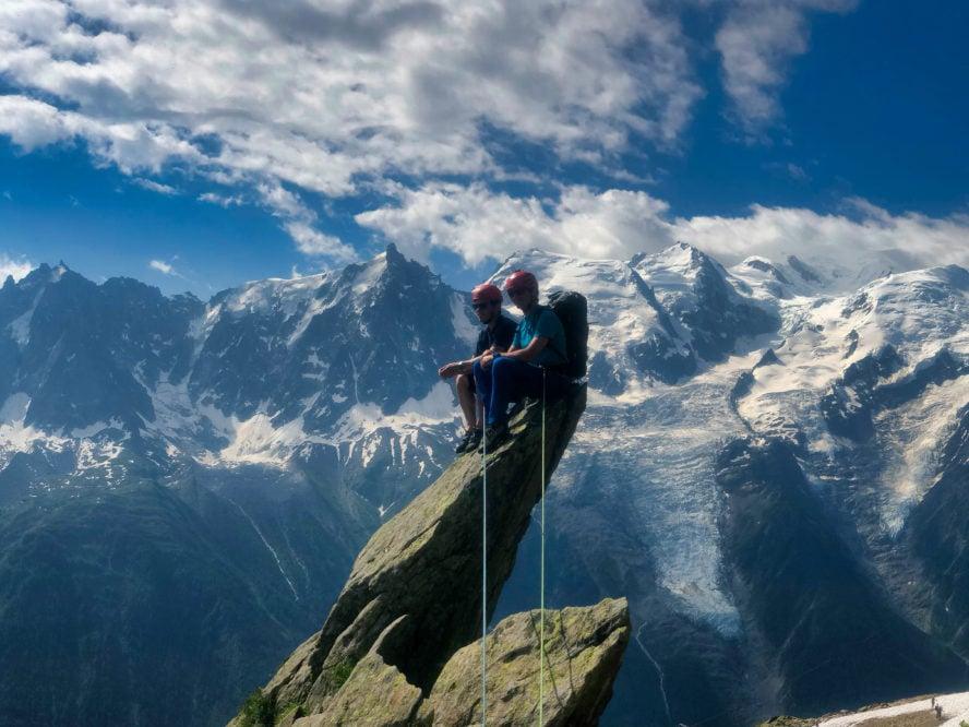 Greg Hill climbing British Columbia