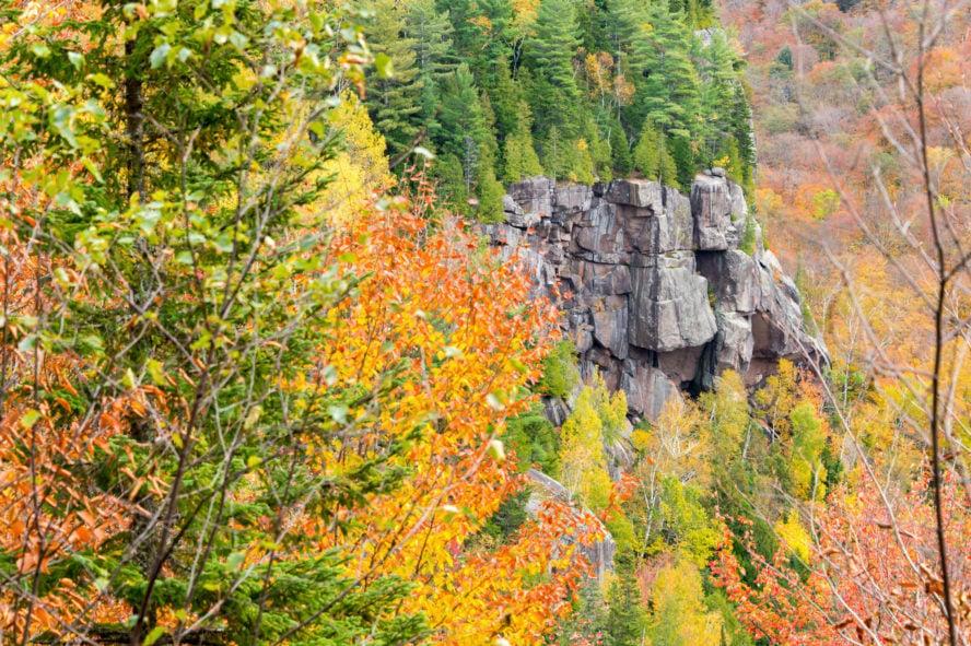 Val David Climbing