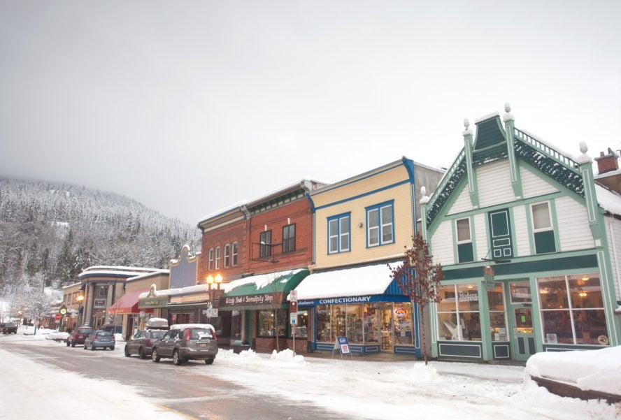 Revelstoke British Columbia in Winter