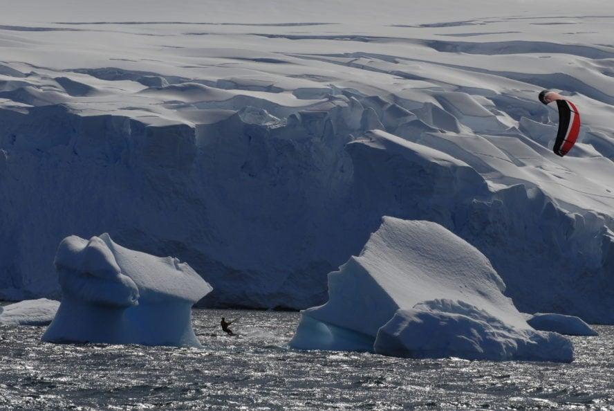 antarctic-snowkiting