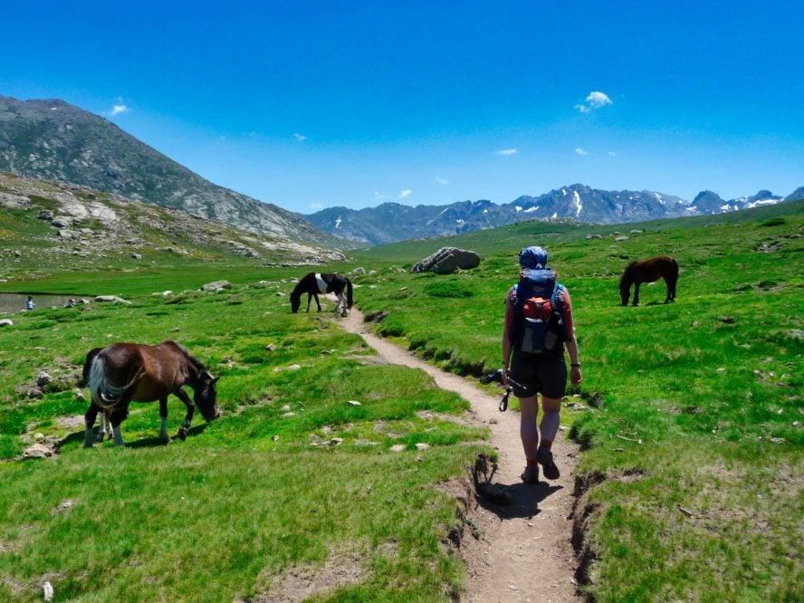 Corsica hiking
